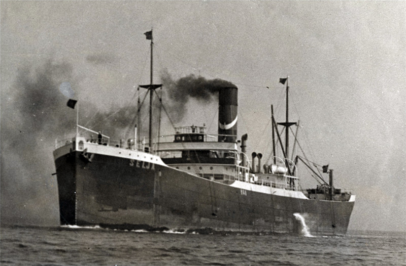 The SS Selja. Credit: SF Maritime National Historical Park.
