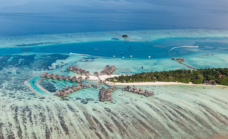 The Maldives is a popular diving destination worldwide, with more than 750,000 tourists visiting each year.