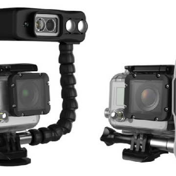 The new Sidekick light for GoPro. (Click to enlarge)