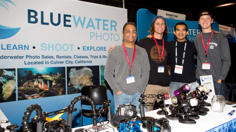 Bluewater Photo at Scuba show Chicago
