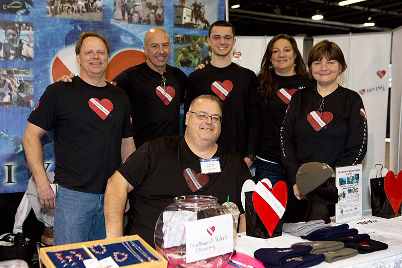 Chicago-area based Diveheart, who works to facilitate confidence and optimism in children, adults and veterans through the therapeutic experience of Scuba Diving