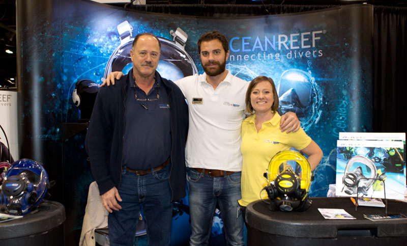 Giorgio and the team from Ocean Reef