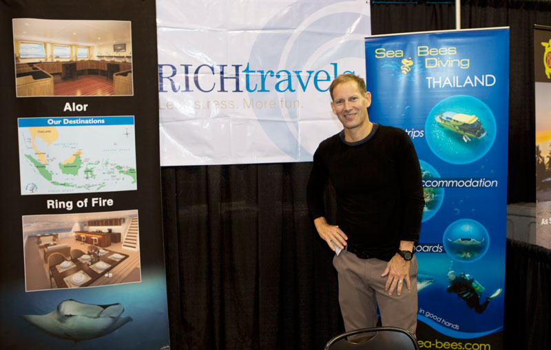 Richard Woulfe from Rich Travels, Dedicated to educating and inspiring people how to have more fun traveling.