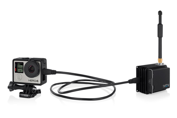 The GoPro HEROcast system