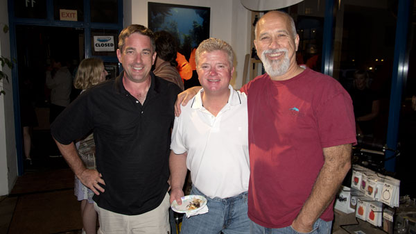Chris Constantine, Mike Bartick, and Richard Silas.