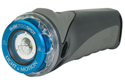 Above: The GOBE S 700 Spot light. Retails for $150.