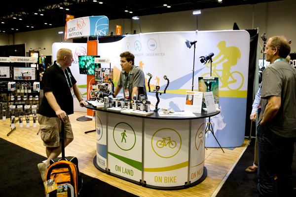 Light & Motion at the DEMA show