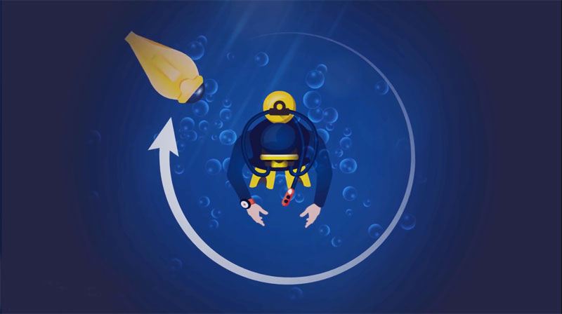 iBubble Wireless Underwater Drone Aims to Film While You Dive