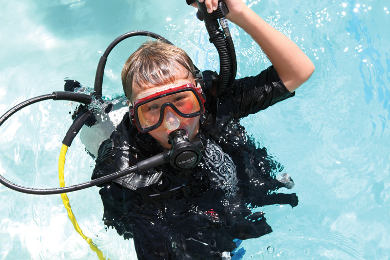 Ben Wagner Scuba Camp: A unique dive opportunity for kids