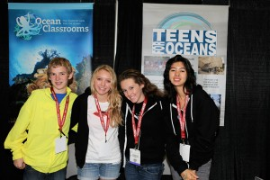 Teens for Oceans at the 2011 DEMA Show in Orlando, Florida.