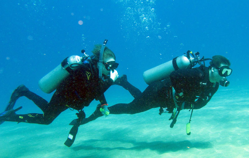 Having confidence in basic diving skills makes diving both safer and more enjoyable