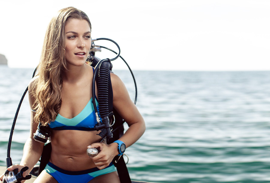 FourthElement's OceanPositive swimwear line.