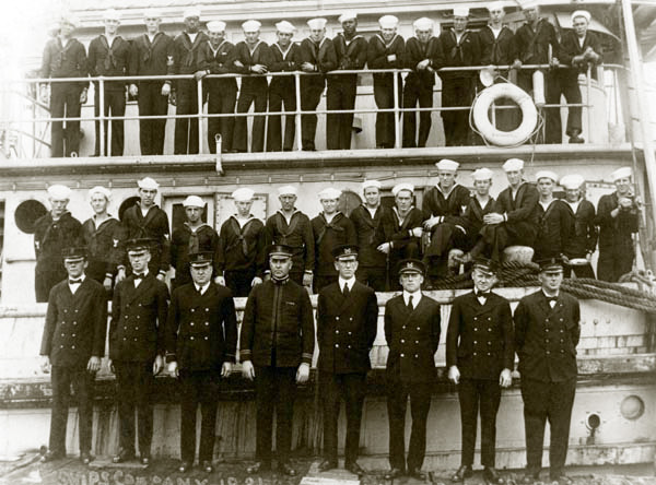 The crew of the NOAA USS Conestoga