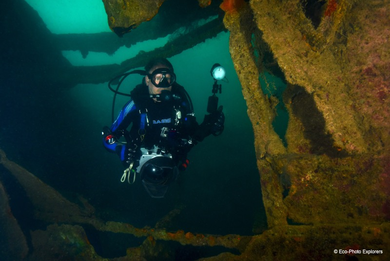 Author Christopher Weaver explores the shadowy remains of the Olympia Maru
